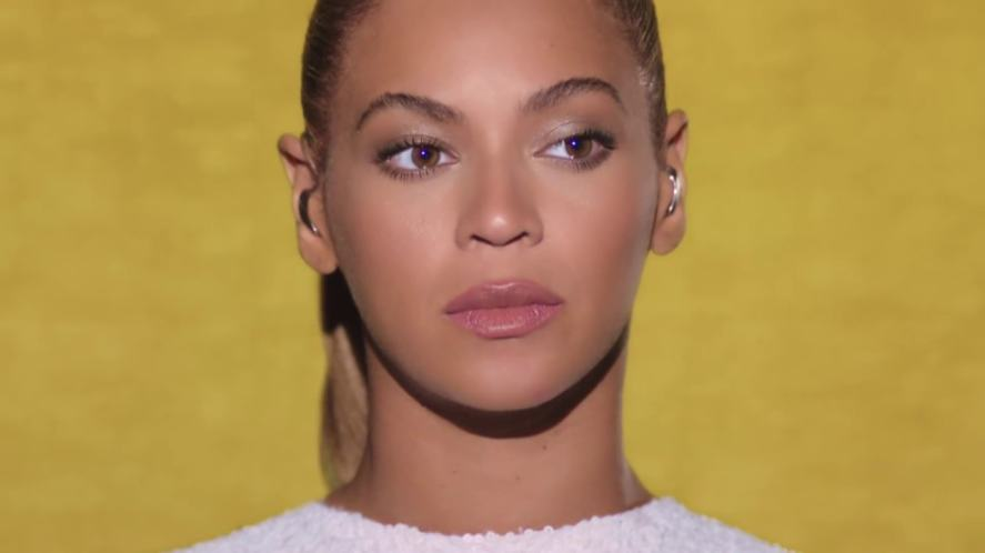 Beyonce in her I Was Here video