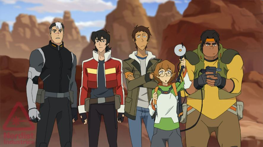 The Voltron force in Voltron: Legendary Defender