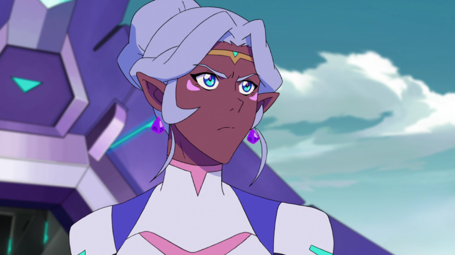A scene from Voltron: Legendary Defender