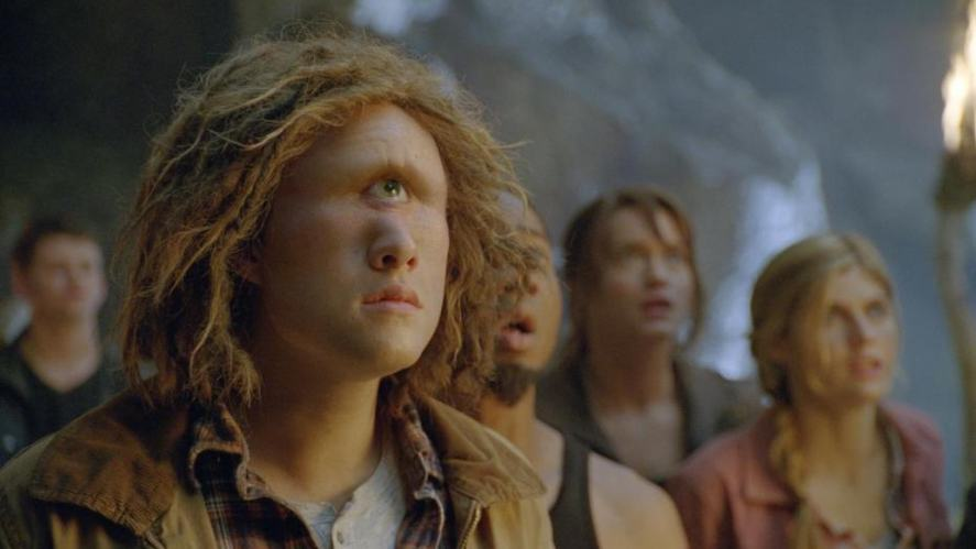 A scene from Percy Jackson and The Olympians: The Lightning Thief