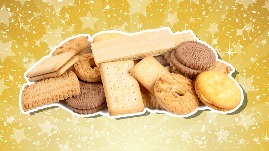A selection of delicious biscuits