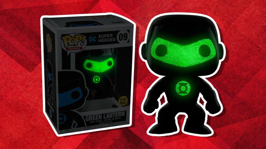 Glow in the dark Green Lantern Funko POP!
