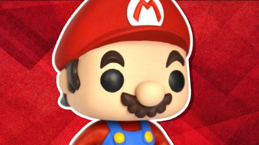 A Super Mario Funko POP