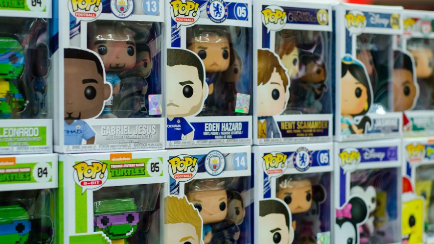 A collection of Funko POP! vinyl figures