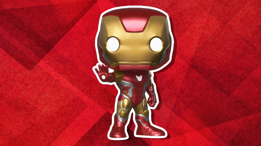 An Iron Man Funko POP! vinyl figure