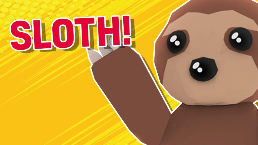 A Roblox sloth