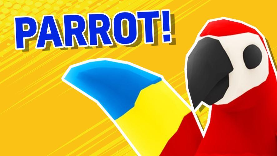 A Roblox parrot