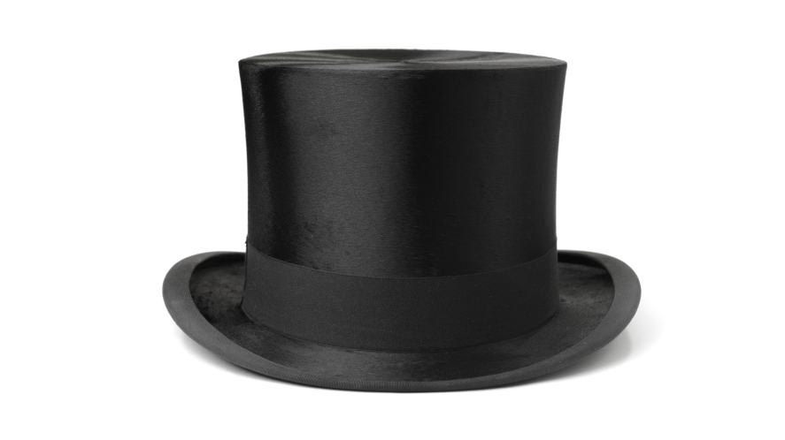 A fancy top hat