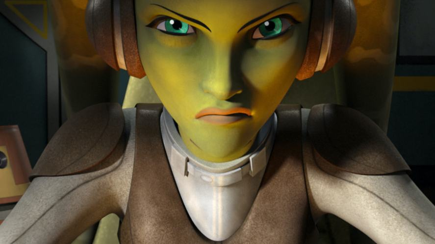 A character from Star Wars Rebels