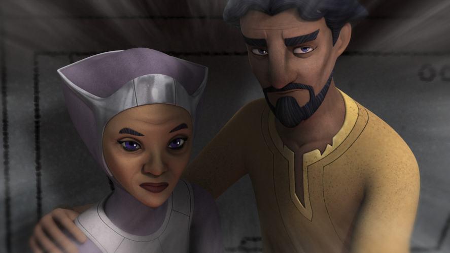 Ezra Bridger's parents