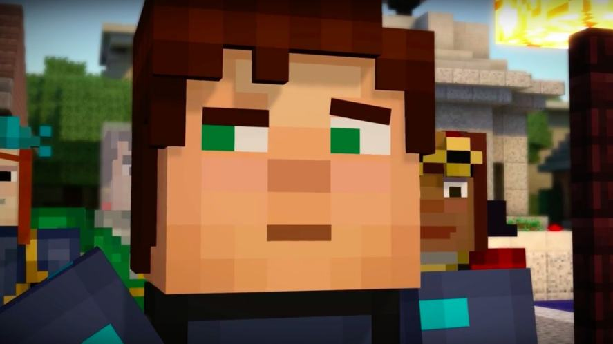Minecraft: Story Mode's main character