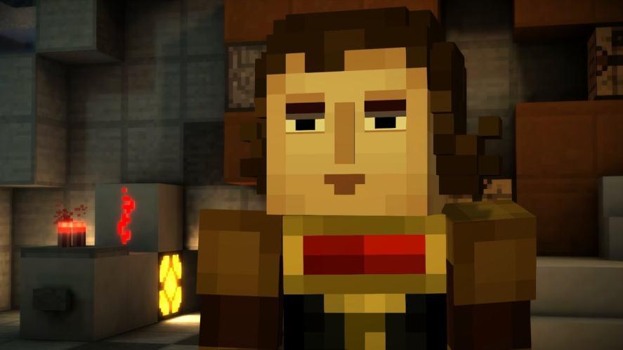 Redstone Engineer in Minecraft: Story Mode