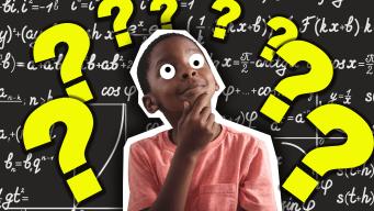 Schoolchild thinking