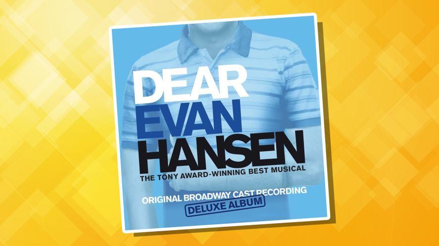 The cover of the Dear Evan Hansen cast album
