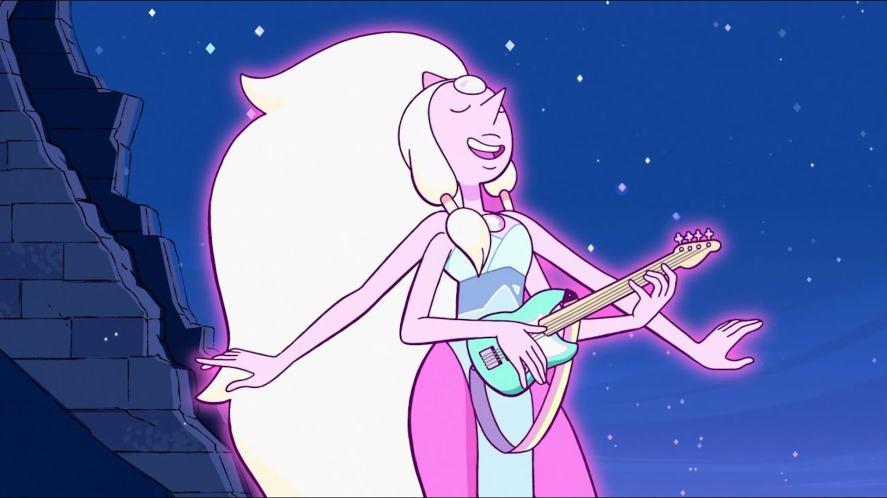 A scene from Steven Universe