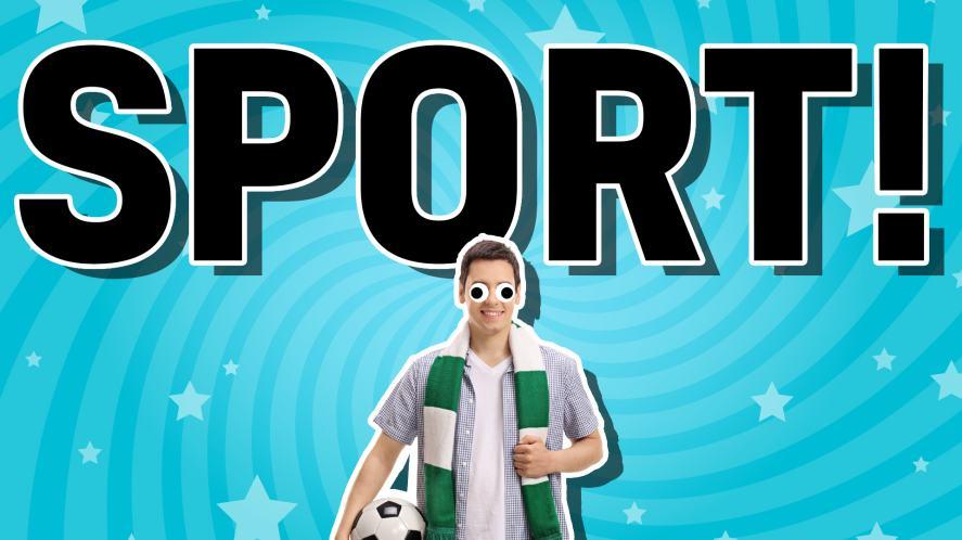 A sporty man