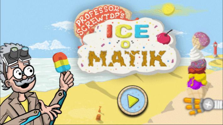 Play Professor Screwtop's Ice-o-matik Ice Cream Machine!