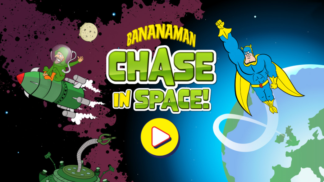 Banana Man Game: Chase In Space