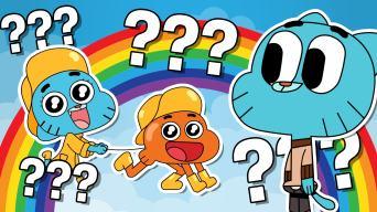 The Amazing World of Gumball quiz