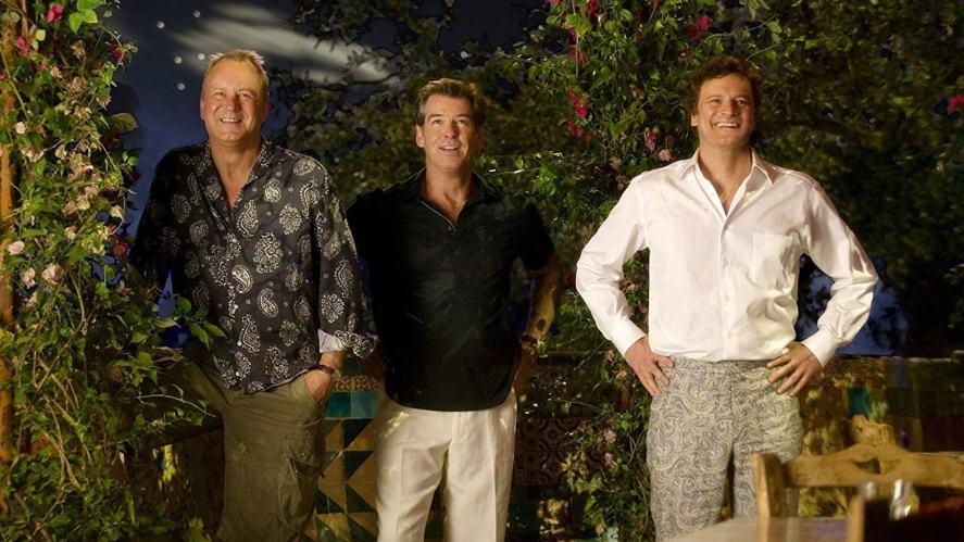 Bill, Sam and Harry in Mamma Mia!