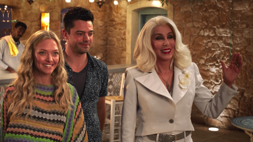 A scene from Mamma Mia! Here We Go Again