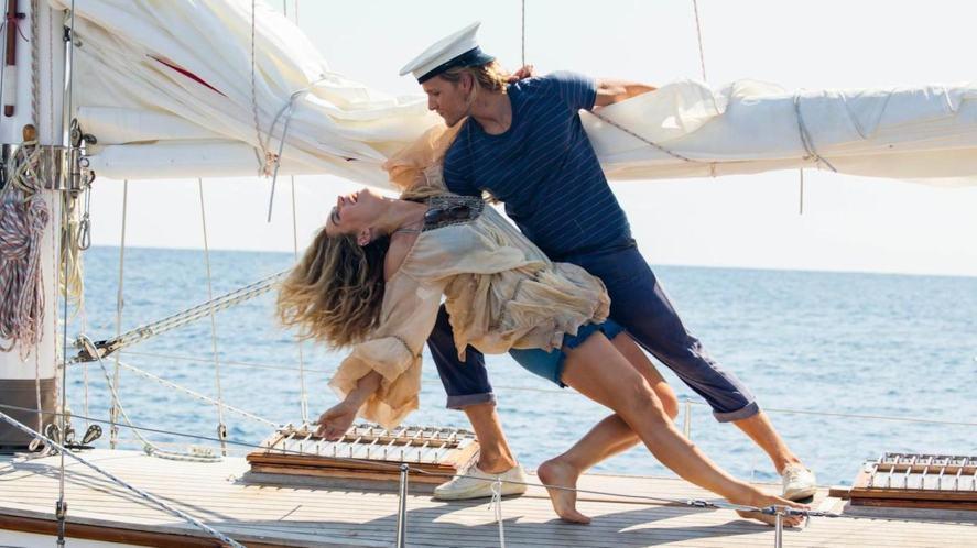 Bill and Donna in Mamma Mia! Here We Go Again