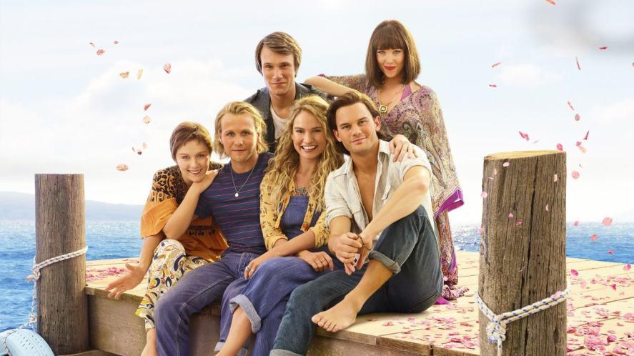 The cast of Mamma Mia! Here We Go Again