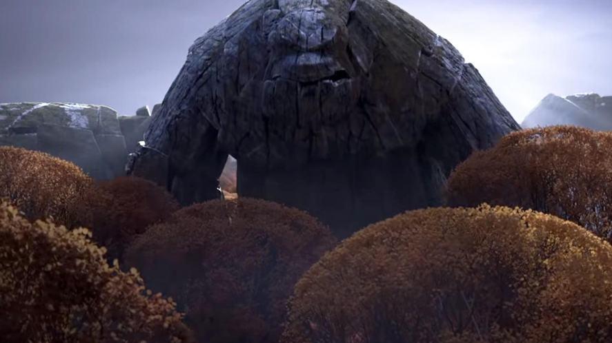 An Earth Giant in Frozen 2