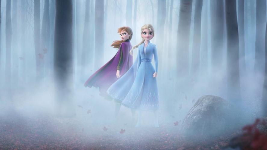 A promotional poster for Disney's Frozen 2
