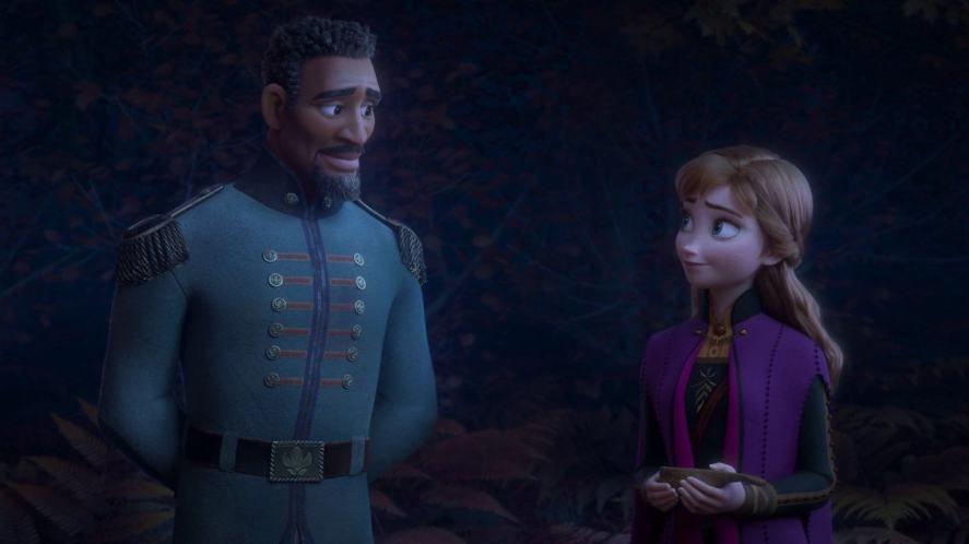 Lieutenant Matthias and Anna in Frozen 2