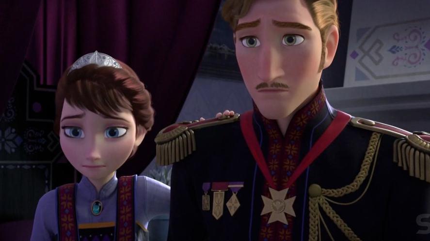 King Agnarr and Queen Iduna in Frozen 2