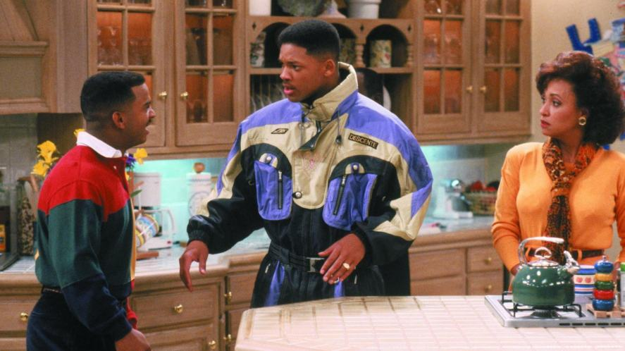 A scene from The Fresh Prince of Bel-Air