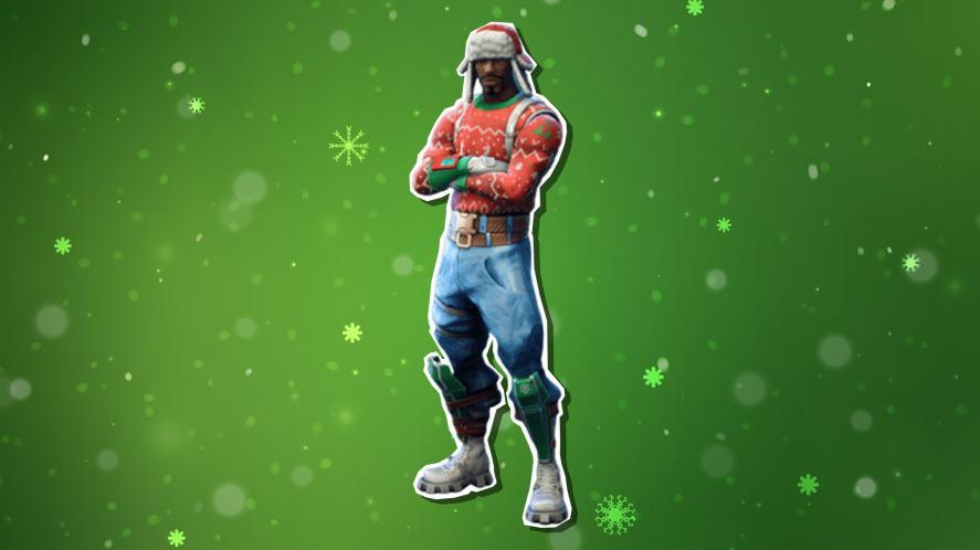 A Fortnite Christmas skin
