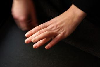 Finger Ring by Nadja Buttendorf