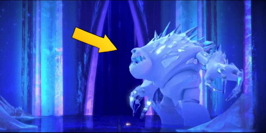 Marshmallow the snow monster