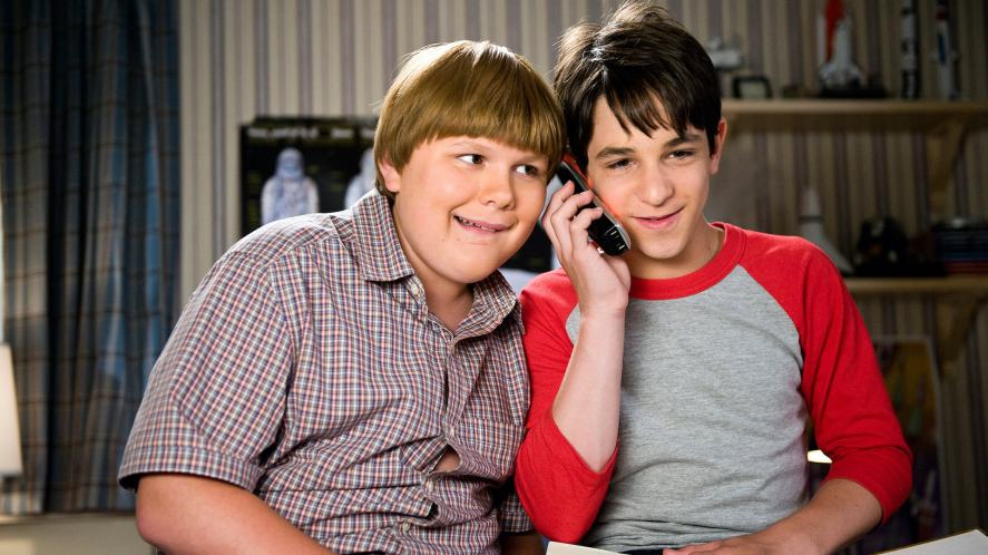 A scene from Diary of a Wimpy Kid: Dog Days