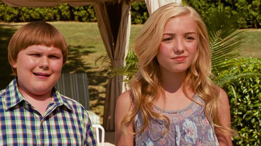 Rowley and Hannah in Diary of a Wimpy Kid: Dog Days