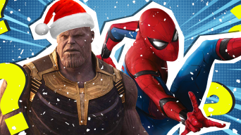 Thanos and Spider-Man