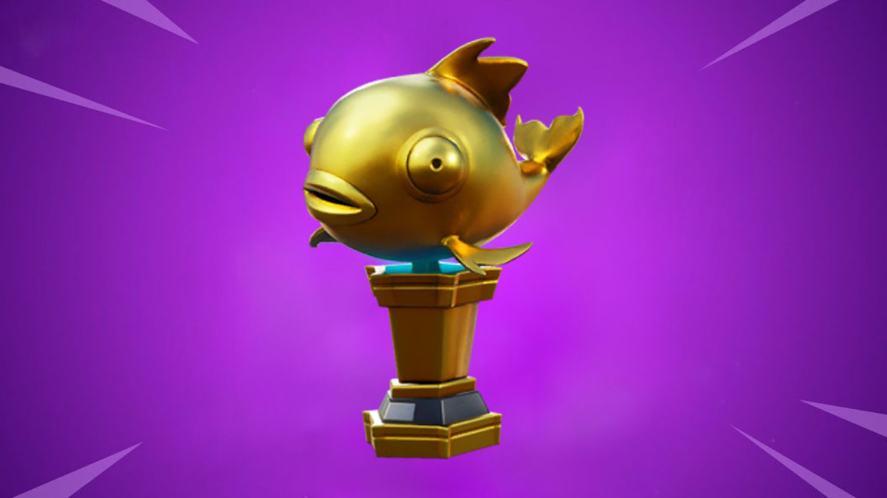A fish in Fortnite