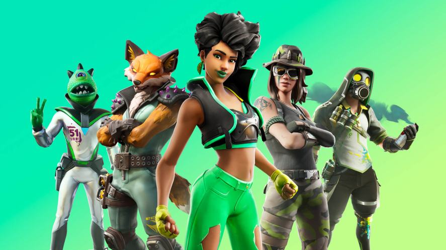 Fortnite Chapter 2 characters