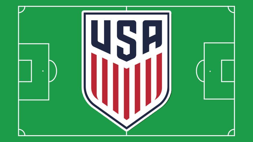 The USA football team badge