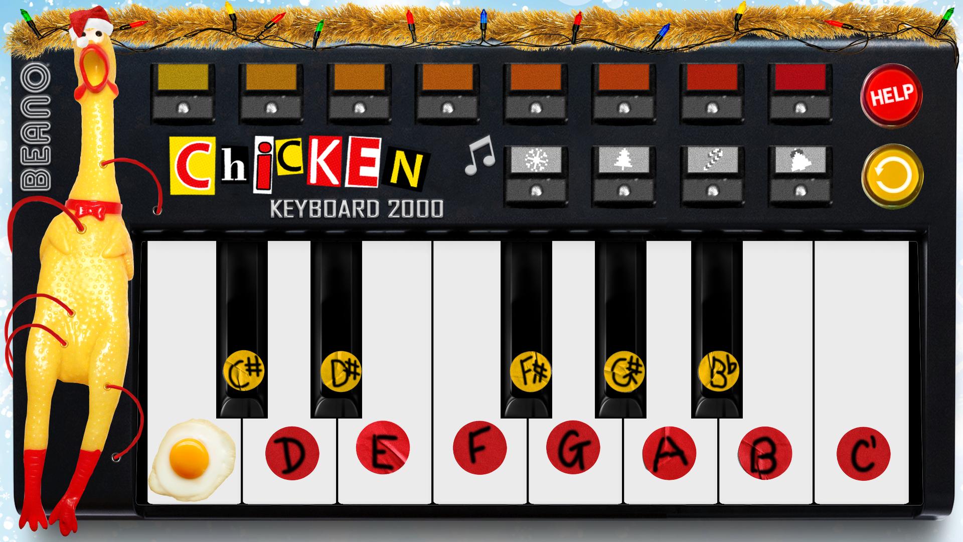 Rubber Chicken Keyboard