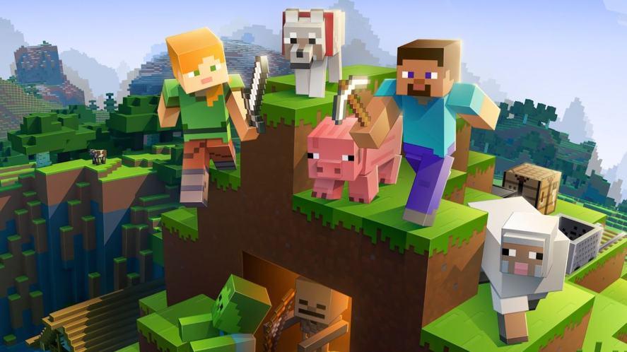 Minecraft box shot