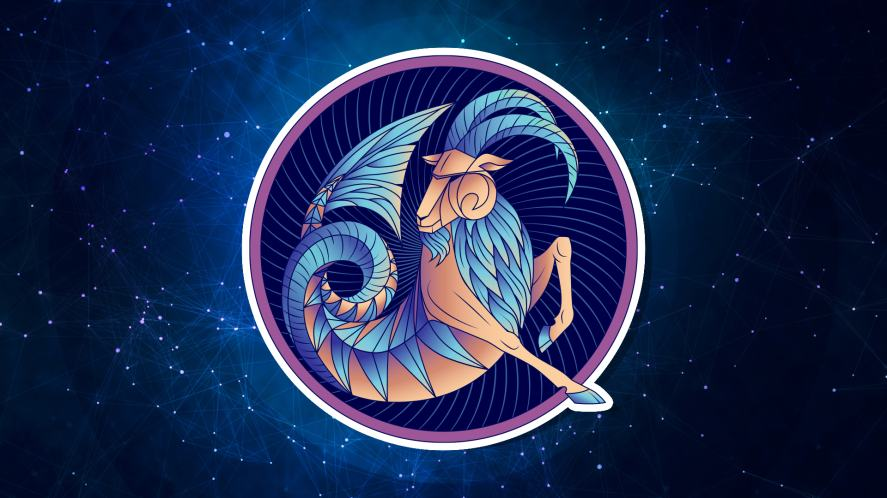 The symbol for Capricorn
