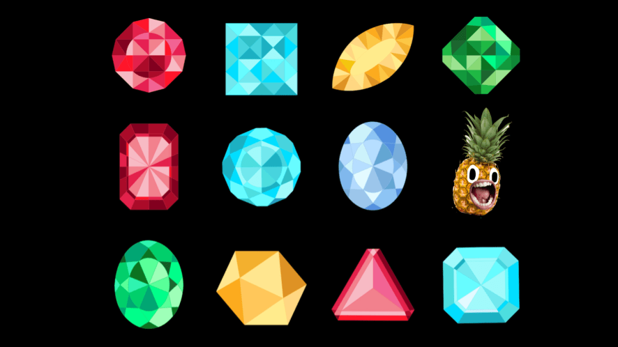 Lucky gemstones