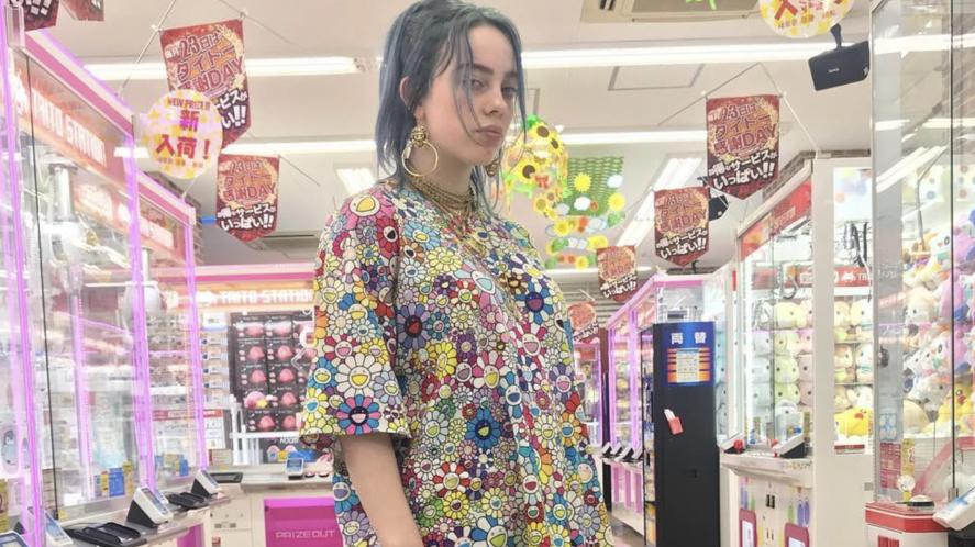 Billie Eilish in Osaka