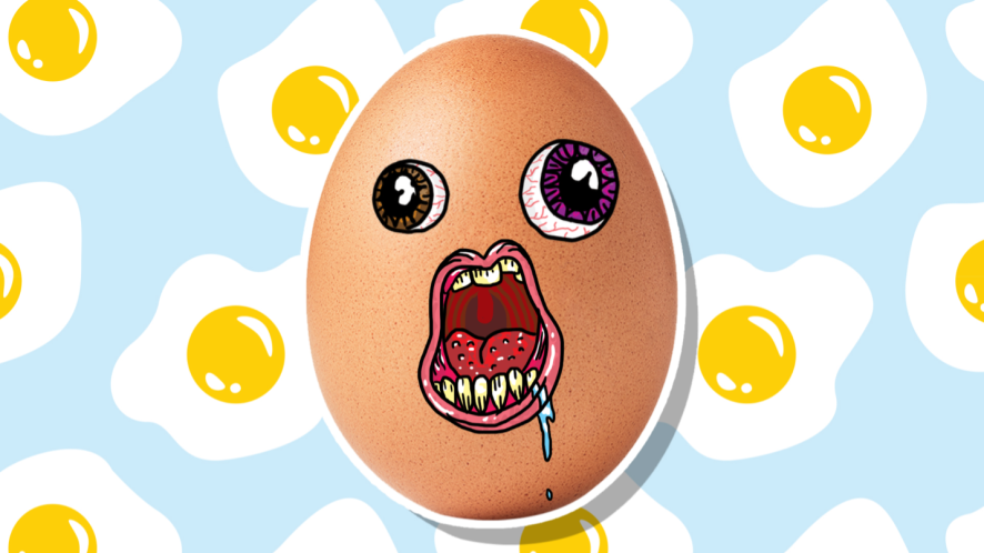 A rotten egg