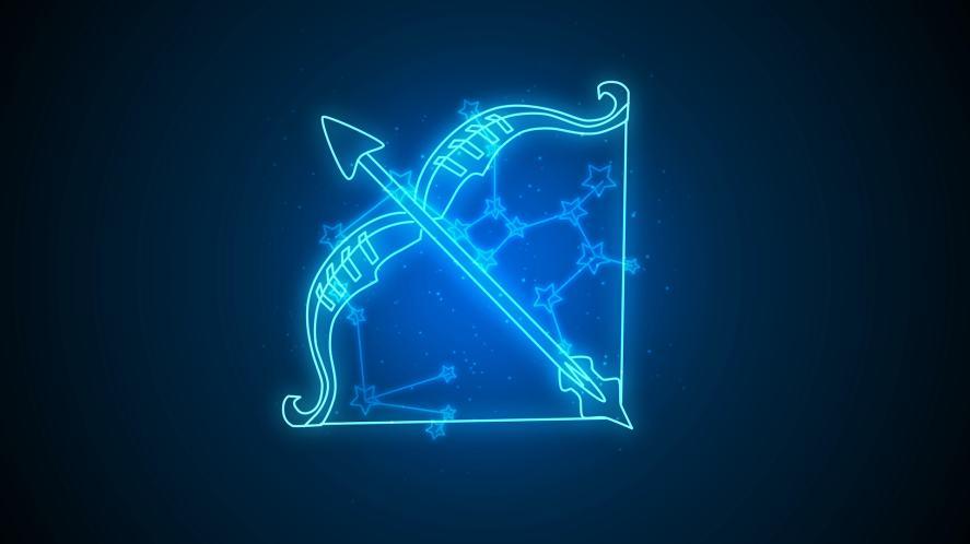 A Sagittarius symbol