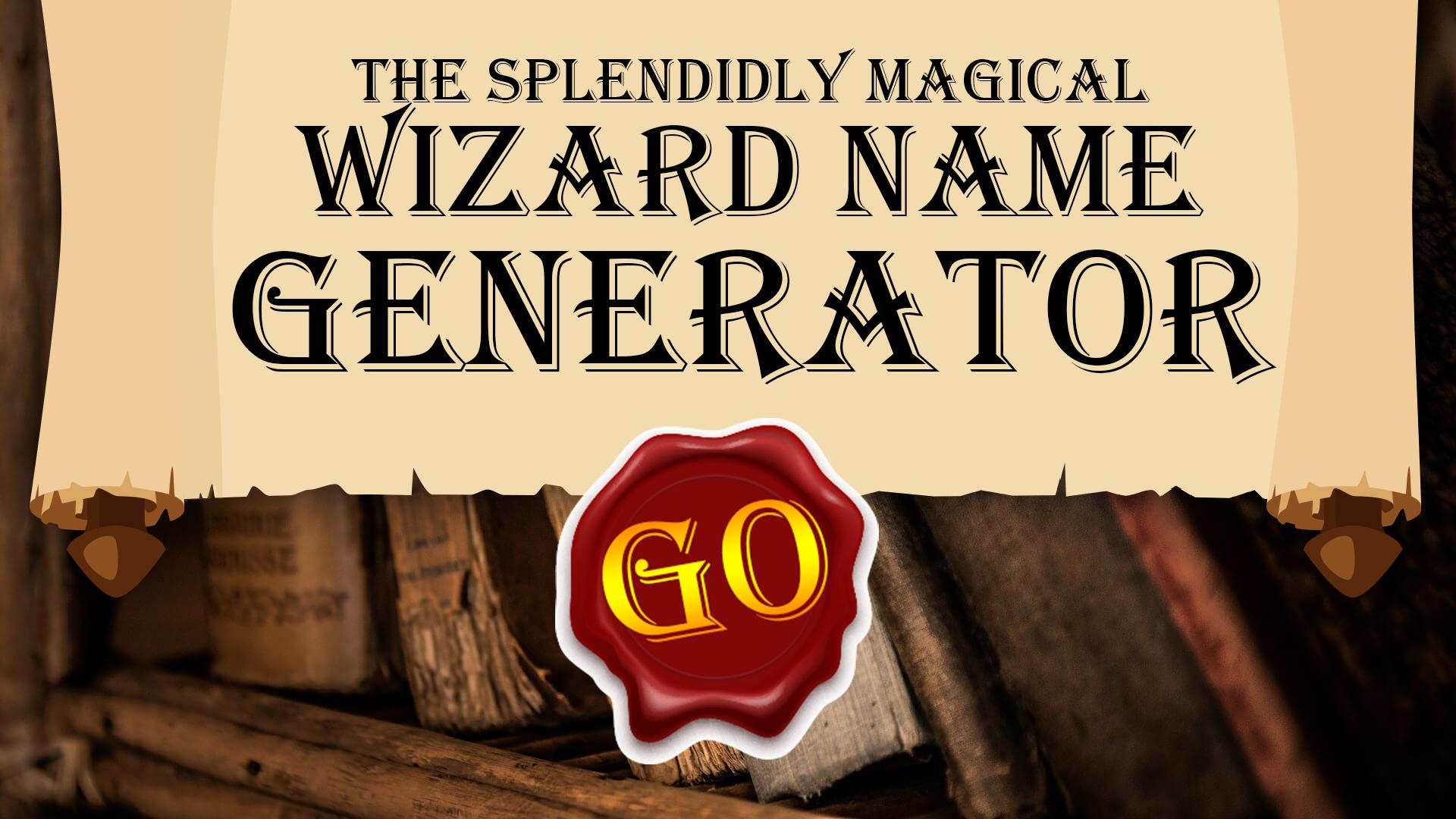 The Wizard Name Generator
