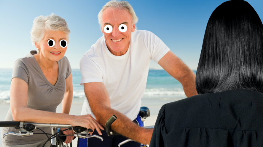 Snape and his parents at the beach